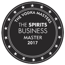 <strong>Wodka AMG Kaltfiltrierung mild</strong><br><br>The Global Vodka Masters 2017 (The Spirits Business)<br>Master Medaille