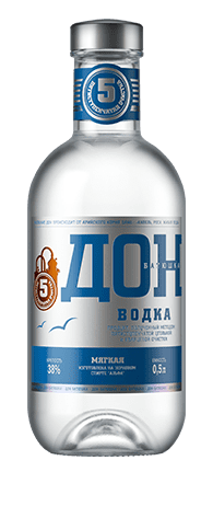 <b>Don-Batyushka Mild</b><br>vodka<br>38%, 250/500/700ml