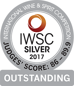International Wine and Spirits Competition-2017<br>Silver outstanding medal
