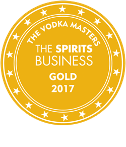 The Global Vodka Masters 2017 (The Spirits Business),<br>Gold medal
