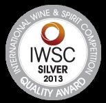 Международный конкурс вин и спиртных напитков-2013,<br>Серебряная медаль