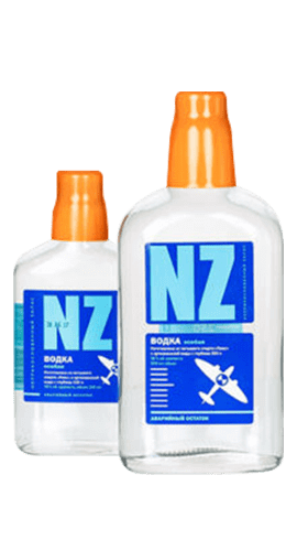 NZ特制伏特加<br>38%,  500 / 250毫升