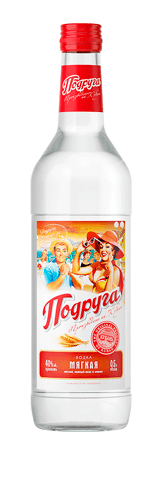 Podruga Vodka<br>Mild, 500 ml
