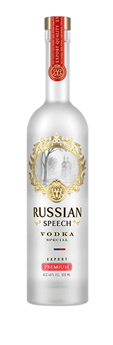 Vodka «Speech russe Premium»,<br>500 ml / 700 ml