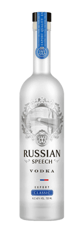 Vodka «Speech russe Classique»,<br>500 ml / 700 ml