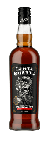 Настойка горькая<br>со вкусом рома<br>Santa Muerte Black Spiced<br>  35%, 500 мл