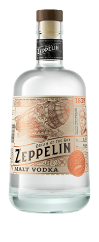 Водка Zeppelin Malt<br>40%, 500 мл / 700 мл
