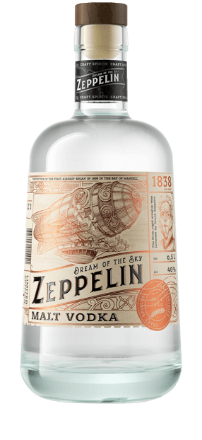 Zeppelin Vodka and Liqueurs